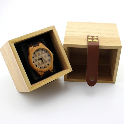 Gift Box Square - Bamboo Watches