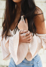Squared Pearl Ring