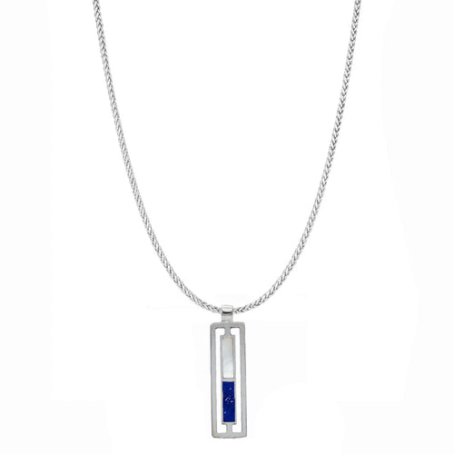 Rectangular Duo Necklace