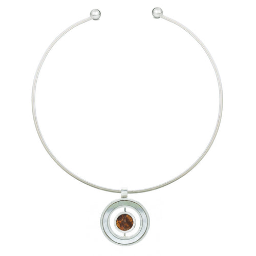 Trio Necklace - Flippable Stone