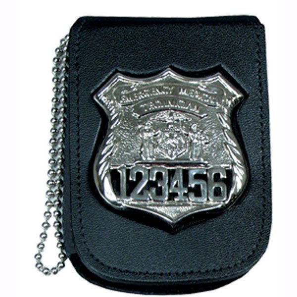 RECESSED BADGE & ID NECK CHAIN