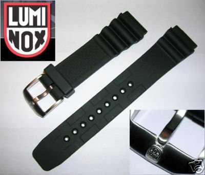 LUMINOX RUBBER STRAP 22mm Italian Rubber Watch Band (8400 Series)