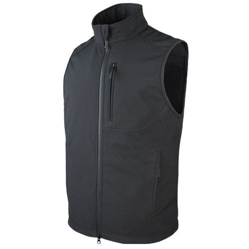 CONDOR CD-10616 BLK CORE SOFTSHELL VEST