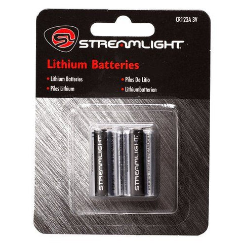 STREAMLIGHT CR123 Batteries 2 Pk