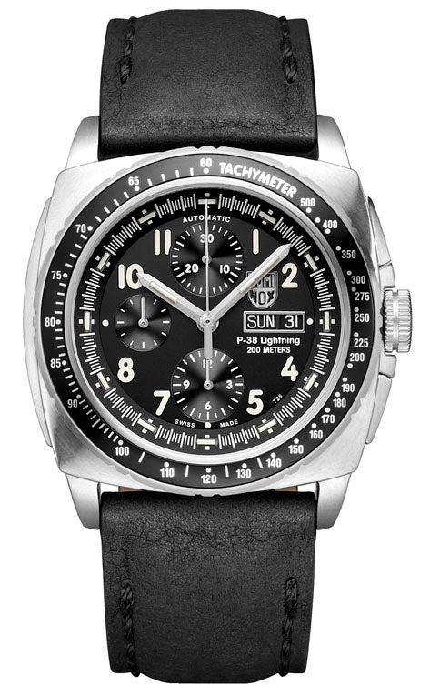 LUMINOX 9461 P-38 Lightning  Valjoux AUTOMATIC