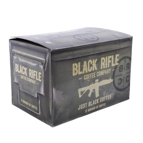 Just Black Coffee Rounds Box of 12