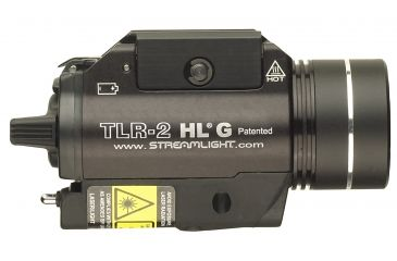 Streamlight TLR-2 HL G Rail Mounted Flashlight with Green Laser