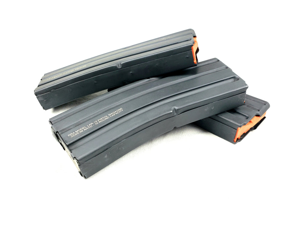 ASC RRA Model LAR-15 Pistol Magazine .223/5.56 10/30 Rounds Capacity 3-PACK
