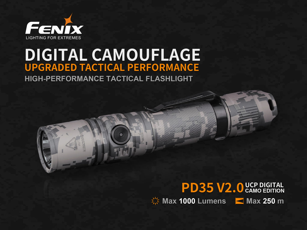 FENIX PD35 2.0 (Digital Camo)