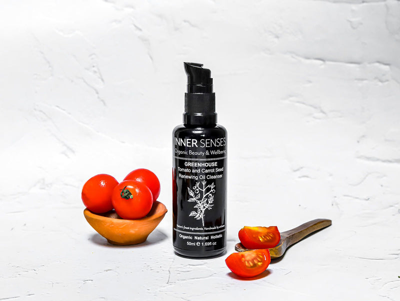 GREENHOUSE Tomato and Carrot Seed Renewing Oil Cleanser