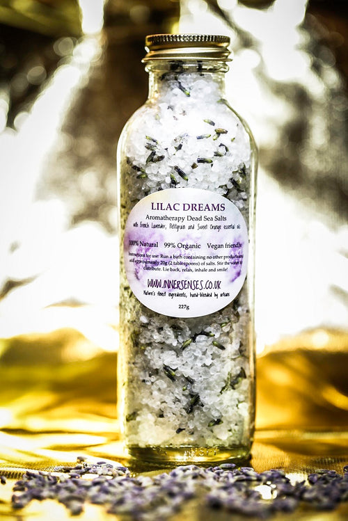LILAC DREAMS Aromatherapy Dead Sea Mineral Salts 237g