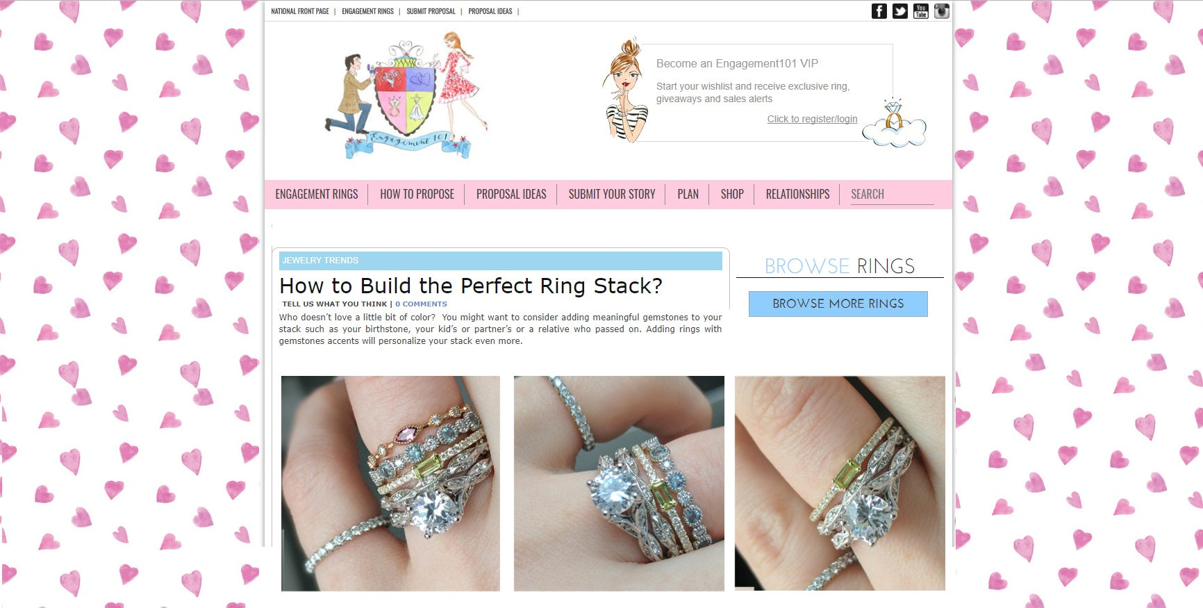 Engagement 101 - Stackable Bands