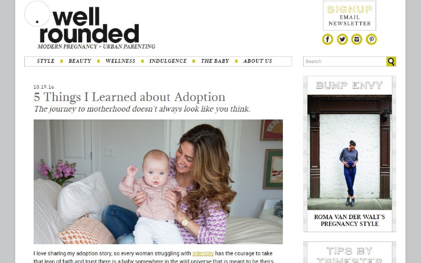 Well Rounded - 5 Things I've Learned About Adoption