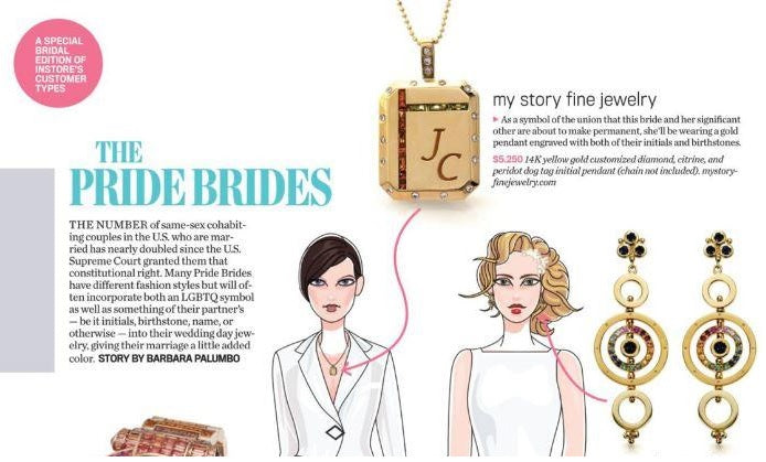 InStore Magazine - The Pride Brides