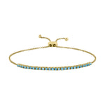 The Pixie Bracelet (Blue Topaz)
