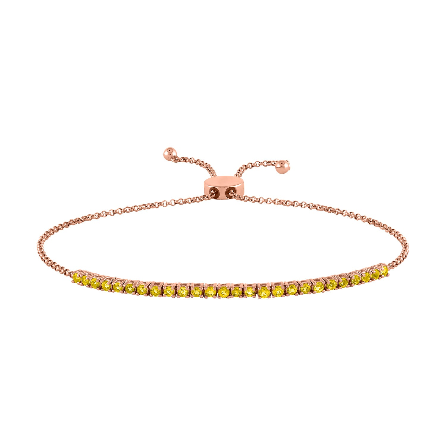 The Pixie Bracelet  (Citrine)