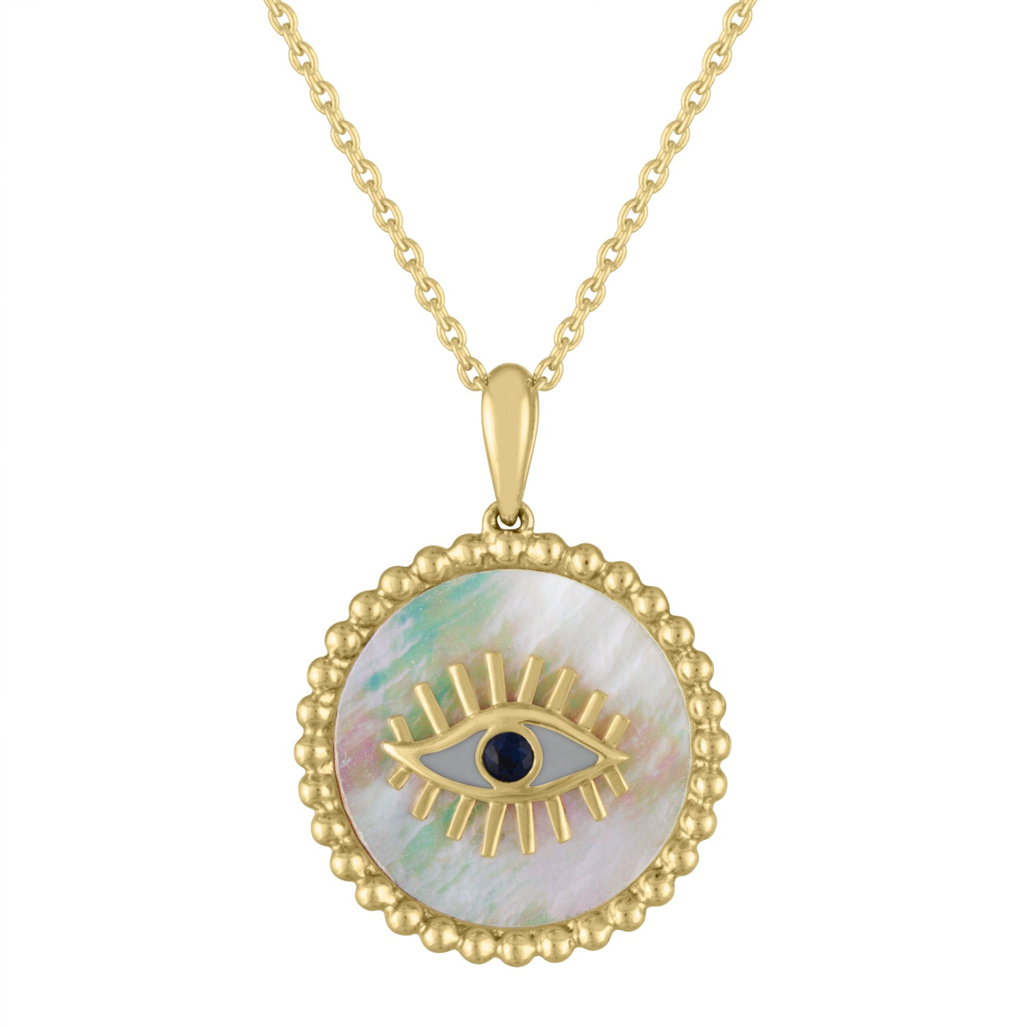 The Tina Evil Eye (Mother of Pearl)