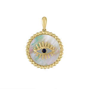 The Tina Evil Eye (Mother of Pearl) Charm
