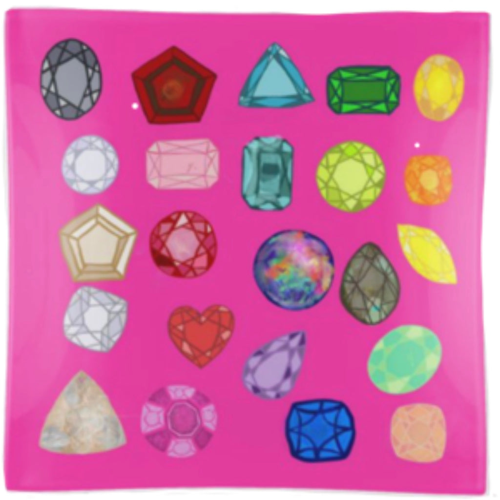 PINK GEMS (Trinket Tray)