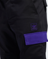 ADIDAS PANT X HARDIES Black/purple