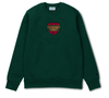 Passport x Carhartt CREWNECK THANK YOU Green