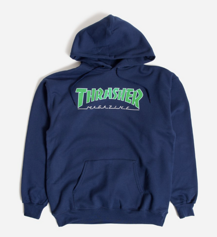 THRASHER Hoodie Outlined