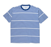 POLAR TEE STRIPE LOGO Navy/white
