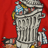 POLAR TEE TRASH CAN Red