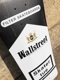 "Board Wall Street ""skater tue"" Black"