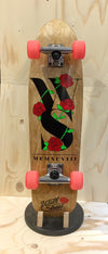 WALLSTREET Cruiser Roses wood