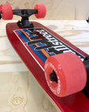 WALLSTREET cruiser skyline red 30""