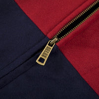 HÉLAS Fan jacket burgundy/navy