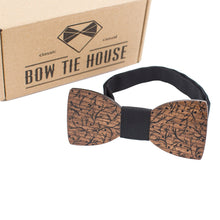 Brown Branches Bow Tie