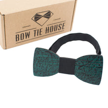 Green Branches Bow Tie - Bow Tie House