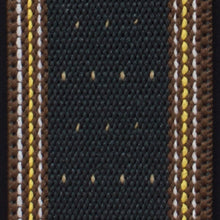 Black Brown Dots Suspenders