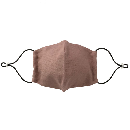 Reusable Rosy Brown Linen Face Mask - Bow Tie House
