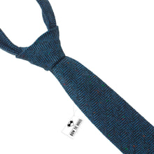 Blue Wool Necktie