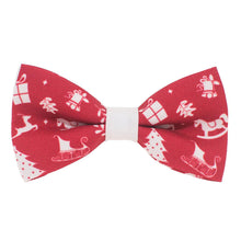 Christmas Toys Red Bow Tie - Bow Tie House
