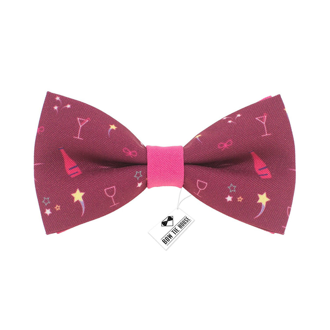 Champagne Pink Bow Tie - Bow Tie House
