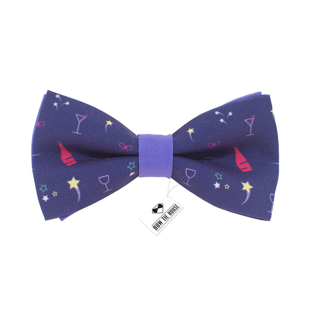 Champagne Purple Bow Tie - Bow Tie House