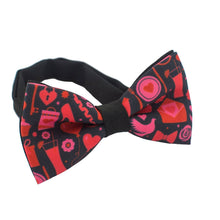 St. Valentines Day Red Bow Tie