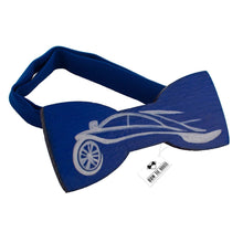 Wooden Racing Car Bow Tie