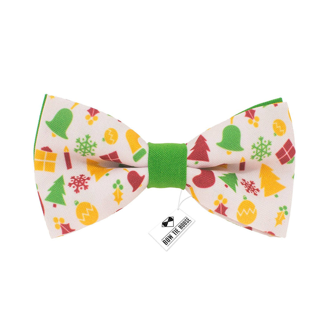 Christmas Attributes Bow Tie - Bow Tie House