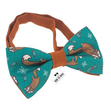 Brown Squirrels Bow Tie - Bow Tie House