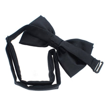 Silk Black Bow Tie - Bow Tie House