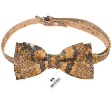 Leather Python Bow Tie - Bow Tie House