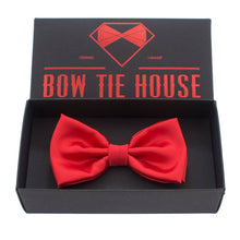 Silk Red Bow Tie