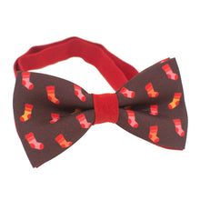 Red Socks Bow Tie