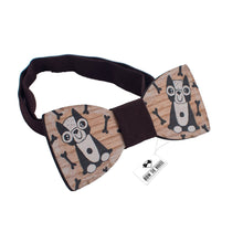 Wooden Dog Bow Tie - Bow Tie House