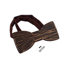 Wooden Ink Cracks Dark Brown Bow Tie - Bow Tie House